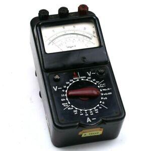 Goerz Electro Unigor 4 Multimeter 226204 Amperemeter Messgerät 25-20000Hz