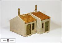 Zwei Arbeiterwohnhäuser - Fertigmodelle - 1:32