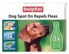 Beaphar Cane Spot On Respinge Pulci 12 Settimana - Confezione Trattamento Erbe