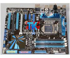 Scheda madre per ASUS P7P55D DELUXE P55 LGA 1156 DDR3 DVI + VGA + HDMI Testato