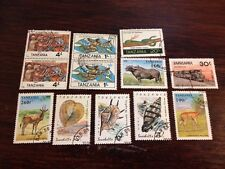 Assorted Stamps from Tanzania
