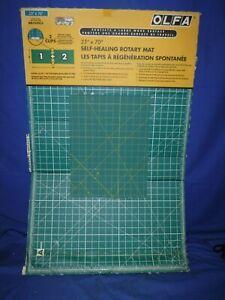 "OLFA Gridded Cutting Mat Set 23""X70"" Clipped Brand new"