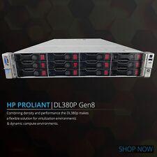 "HP DL380p G8 Xeon Eight (8) Core 16GB RAM 12x 3.5"" P420 1GB ProLiant Rack Server"