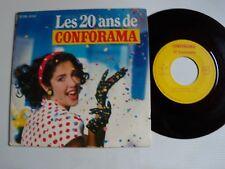 """Les 20 ans de CONFORAMA """"Dans mon pays"""" """"ABBEY ROAD SIXTIES"""" 7"""" EP 2C108-01247"""