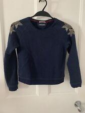 Blue Sweatshirt For Kids By Tommy Hilfiger