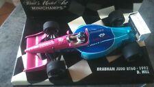 minichamps f1  brabham bt60 damon hill 1992