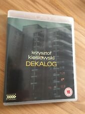 DEKALOG DECALOGO / Krzysztof Kieslowski / Blu Ray 3 Dischi Arrow Audio Inglese