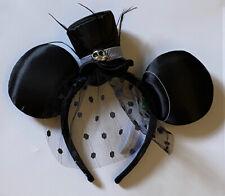 HKDL Disney Halloween Jack Adult Headband Mickey Ear Nightmare Before Christmas