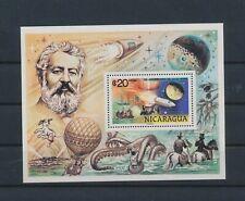 LN74977 Nicaragua Jules Verne good sheet MNH