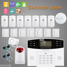 Wireless GSM Home House Office Security Burglar Alarm SMS Outdoor Touch Keypad