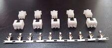 5 Pares - 2 Pin Conector de encabezado y PCB 2.54mm 0.1 pulgadas XH-2P (20 Piezas)