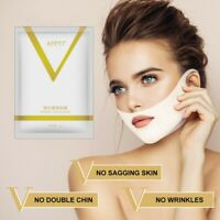 Double Chin Reducer Face Slimming Strap V Shape Mask Lift Tape Firming Patch US