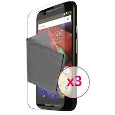 Films de protection Motorola Moto G 4G (V2 2014)  3H Ultra Clear HD Lot de 3