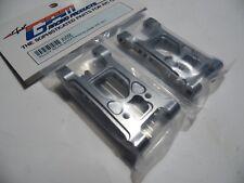"GPM XV056 Alloy Rear Suspension Arm "" Grey Silver"" TAMIYA XV01"