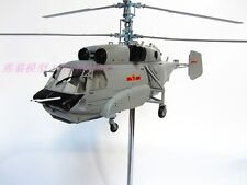 Early warning KA31 helicopter aircraft model military 1-43 (L)