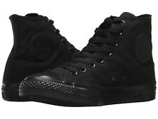 NEW Mens Chuck Taylor All Star High Top Sneakers Black Monochrome AUTHENTIC