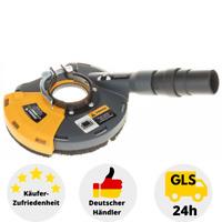 Absaughaube für Winkelschleifer Absaugschutzhaube Universal Scheibe bis 125mm