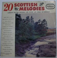 20 SCOTTISH MELODIES Rikki Henderson & Gordon Franks Singers LP Album Vinyl VG