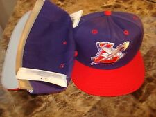 JETS EAGLES FITTED SZ 7 3/8  MINOR LEAGUE PRO-LINE 90'S  HAT CAP VINTAGE