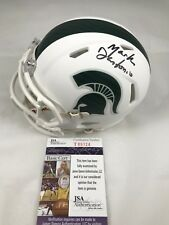 MARK DANTONIO Signed Autographed Michigan State Spartans Mini Helmet JSA COA 1