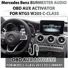 OBD AUX Activator for Mercedes Benz Burmester COMAND NTG5 C-Class W205