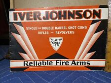 Iver Johnson Parts Catalog 12 pages single-double-barrel-rifl es-revolvers
