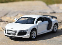 1:43 AUDI R8 GT Spyder Sports Alloy Car Model Kids Toys Vehicles