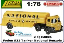 Lledo Trackside1/86 FODEN S21 TANKER NATIONAL BENZOLE 150006 Compliments OO Rail