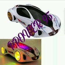 3D LAMBORGHINI FERRARI stile Super Car-Elettrico Giocattolo ruota Luci per Bambini
