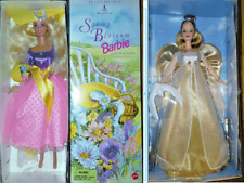 Nib Vintage Barbie 1999 Angelic Inspiration and 1995 Spring Blossom (2 dolls)