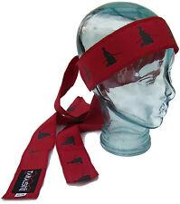Tenugui  Ninjutsu Warrior Kendo Headband (RED-V2) With Sword Warrior