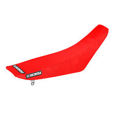 Honda CRF 150F 150 F Seat Cover 2003 - 2019 All Red  Gripper Style By Enjoy Mfg