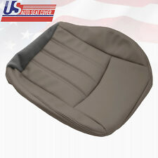 2009 2010 Chrysler 200 300 Driver Side Bottom Synthetic Leather Seat Cover Gray