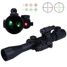 3 - 9X40EG Rouge/Vert Lumineux Lunette de Visée Optiques Sniper Chasse Portée