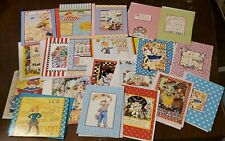 25 Mary Engelbreit blank note cards, friendship, encouragement, all occasion.