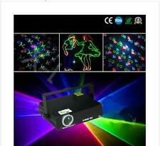 4PC/BOX 300mw RGB FULL COLOR ANIMATION LASER LIGHT WITH SD CARD  stagelights