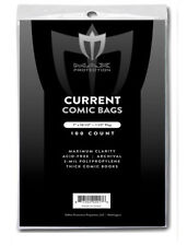 2000 Max Pro Thick Current Modern Comic Book Archival Poly Bags 7 X 10 1/2