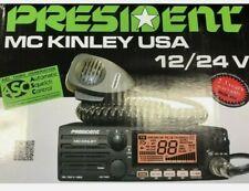 President McKinley USA 40 Channel SSB 12/24V CB Radio OPEN BOX.