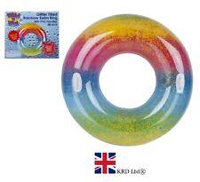 GIGANTE Gonfiabile Ali D/'Angelo PISCINA GALLEGGIANTE Lilo lettino Toy UK STOCK