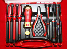 Felo Professional Electronics Service Kit 9 Piece With 6 Screwdrivers and Plyers