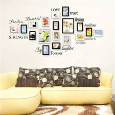 Family is... Forever Letters Wall Quotes Removable Vinyl Wall Decal Stickers