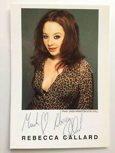 Rebecca Callard - Fearless - Detectorists - Original Hand Signed Autograph