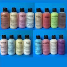 Philosophy 3-in-1 Shampoo Shower Gel Bubble Bath CHOOSE SCENT 6 oz,