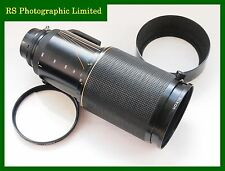 Nikon Zoom-Nikkor ED 80-200 mm F2.8 First Version 1982 Lens. Stock No. U7330