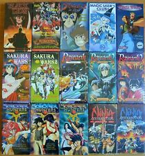 Wholesale Lot of 15 Anime VHS Video New Subtitles in English Delinquent in Drag