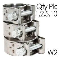 Pack of 1,2,5,10 | NORMA GBS W2 | Stainless Steel | T Bolt Hose Clip | Clamp