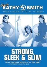 Classic Kathy Smith - Strong, Sleek & Slim NEW DVD Buy 2 Items-Get $2 OFF