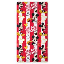Spannbettlaken Disney Mickey Maus 90x200cm 100% Baumwolle