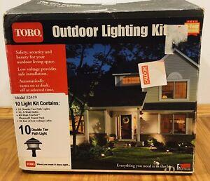 Toro Outdoor Lighting Kit - 10 Light Kit - Model 52149  NEW  SOLD FOR PARTS
