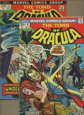 Tomb of Dracula 9,11 * 2 Book Lot * Marv Wolfman! Gene Colan! Marvel
